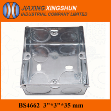 China supplier bs4662 weather proof heavy iron box