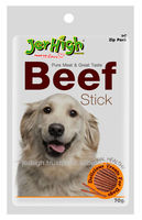 Best Jerhigh Premium Beef Stick Healthy Meat Pet Food