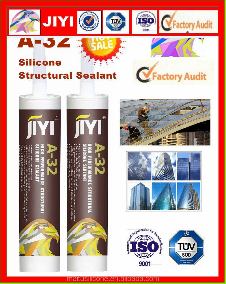 structural weatherproof silicone seaalnt neutral silicone adhesive rubber transparent glass glue