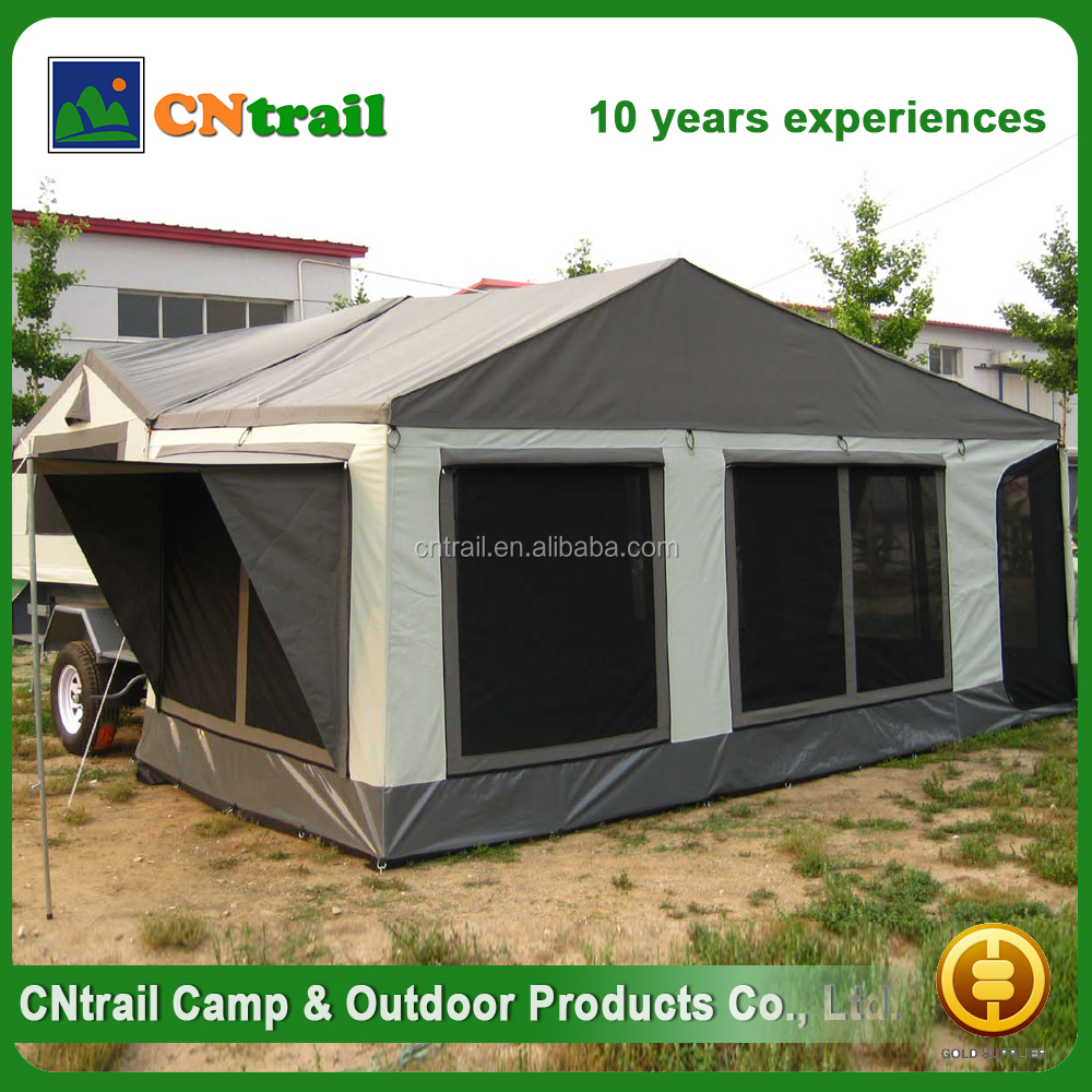 Gold supplier china 3-4 person camper trailer tent
