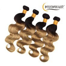 8A Grade Virgin Remy Deep Loose Ombre Brazilian Hair Weave 1b/27 Ombre 2 Tone Color Human Hair Extensions
