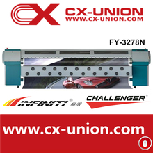 Digital solvent inkjet printer,Challenger 3.2m FY-3278N to sale