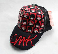 Multicolor cartoon mesh trucker cap with manufactory price baseball cap