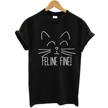 <strong>Apparel</strong> Factory Price Wholesale White Plain <strong>Men's</strong> Short Sleeve T-Shirt 100% Cotton Feline Fine Cat Lover Clothing