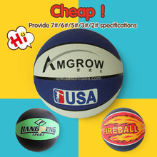 Factory direct saling cartoon rubber ball toys for kid