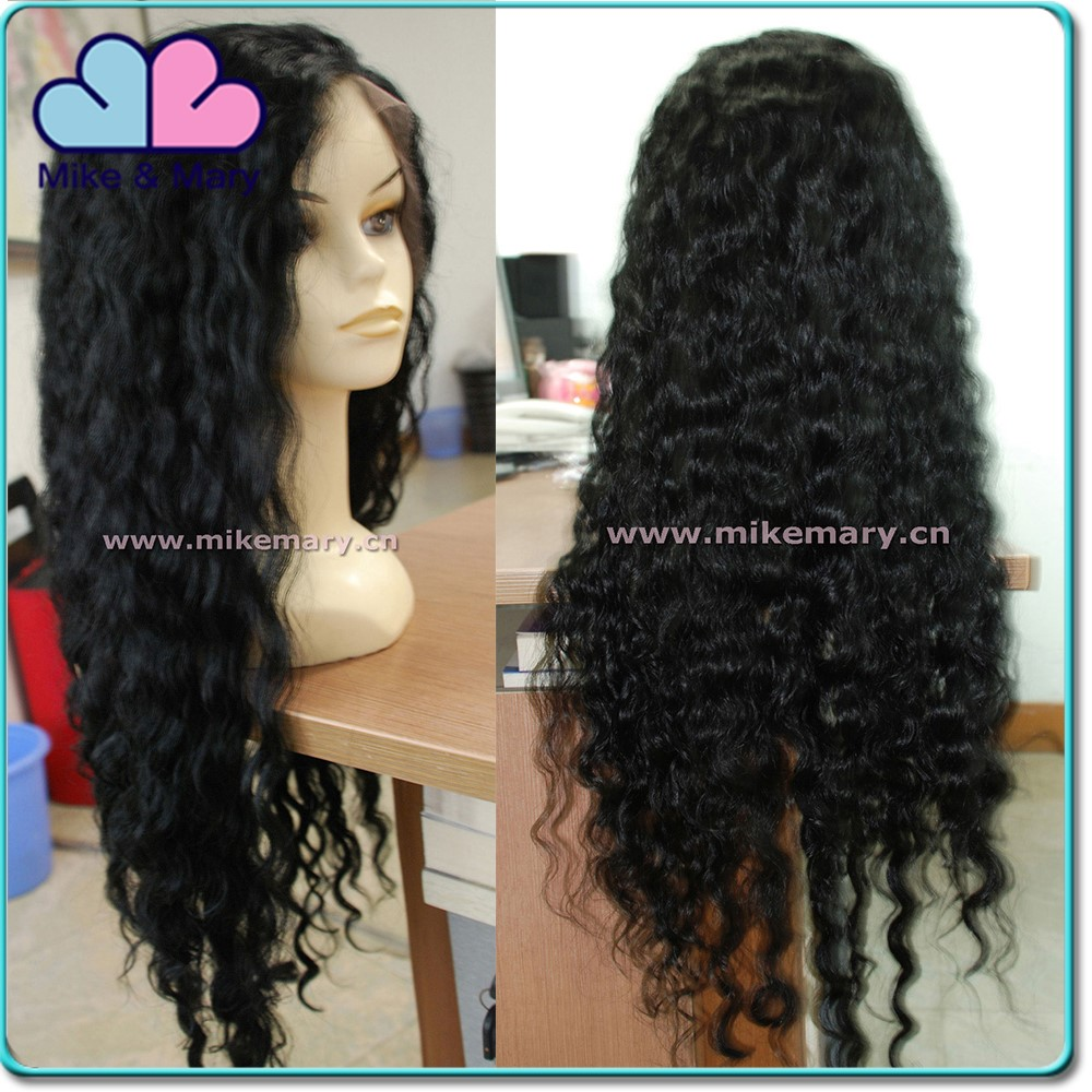 New 2016 Aliexpress Brazilian Human Hair Full Lace Wig with Baby Hair