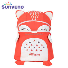 New High Quality SUNVENO Toddler Baby Harness Backpack Cute Baby Backpack Fashion Children Backpacks 3D Animal Prints mochila