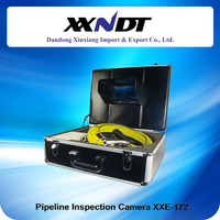 Industrial Automatic Balancing Push Drain Line Pipeline Camera