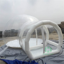 2016 Homey tents! igloo inflatable clear tent, clear bubble tent for sale, tent inflatable