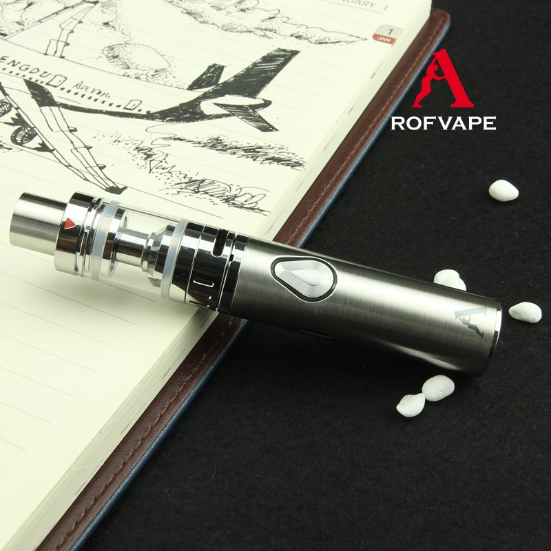 Best Quality Rofvape Child Lock Kit 1000/1500mah Pen Style Ego E Vape Vapor Cigarretes Starter Kit