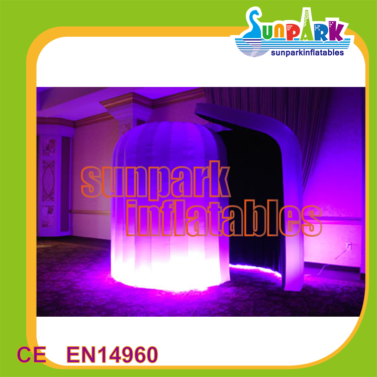Commercial Lighting Air Foto Booth Inflatable Camera Photo Booth