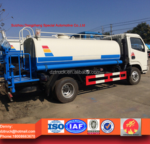 5 ton water tank truck, dongfeng small water spray truck