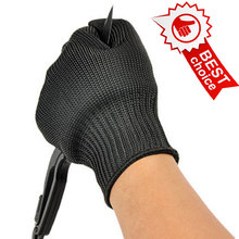 NMSafety Proof Protect Stainless Steel Wire Safety Gloves Cut Metal Mesh Butcher Anti-cutting breathable Work Gloves