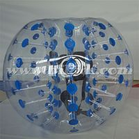Promotional knocker ball, human ball, human sized bubble ball for grass/gym/playground