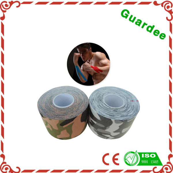 Free Sample High Quality Comfortable Coloured Athletic Tape Fingers Printed Breathable Sports Tape .