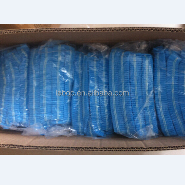 Disposable PP nonwoven mob cap,clip cap