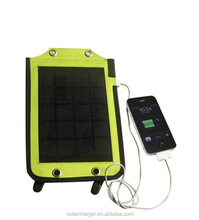 5w portable solar power pack for home and outdoor application