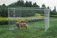 CHAIN LINK DOG PEN SYSTEM DOG KENNEL 10' x 10' x 6' BOX KENNEL