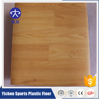 Best price china indoor PVC wood sport flooring for gym