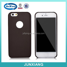 alibaba china ultra thin with hole leather cell phone case for iPhone 6