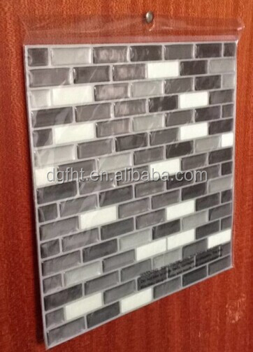 mosaic 3d wall sticker home decor backsplash wallpaper bathroom
