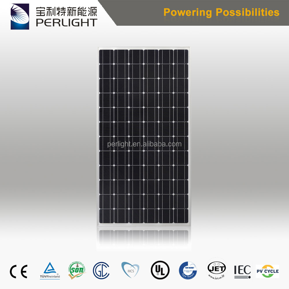Residential Rooftop Solar Panel 24V 300W Mono Solar Panel 300W