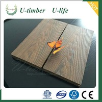 New Style timber thermowood wpc decking floor