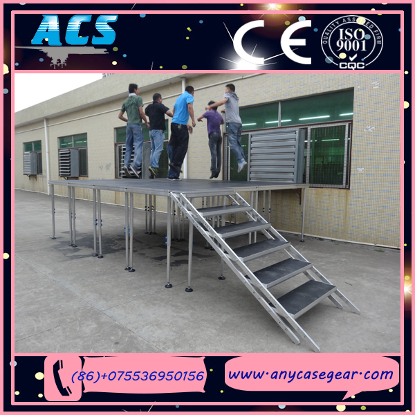 four legs stage aluminum stage truss supplier