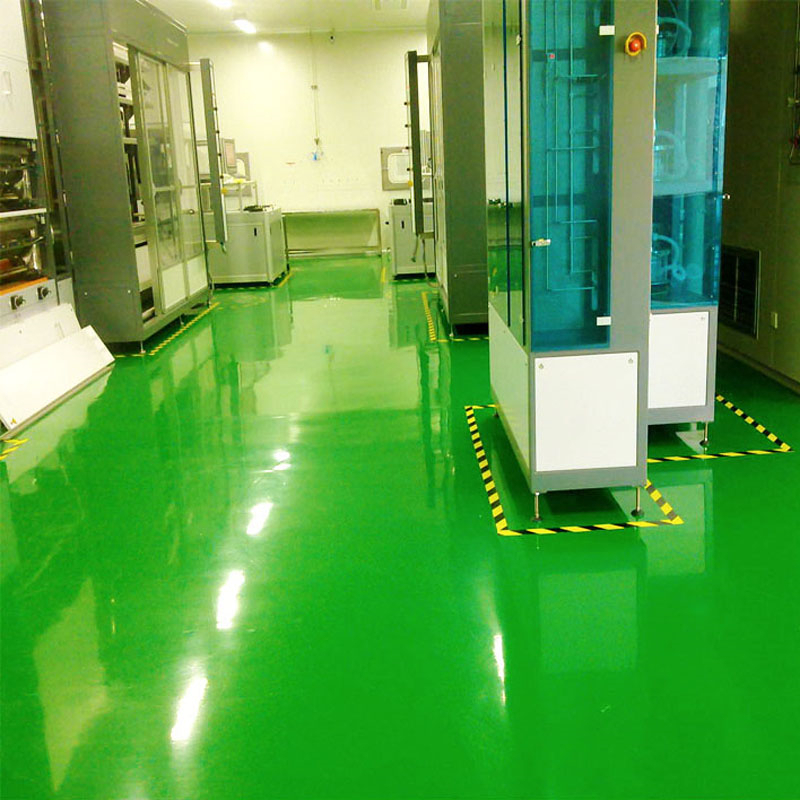 Concrete floor paints epoxy