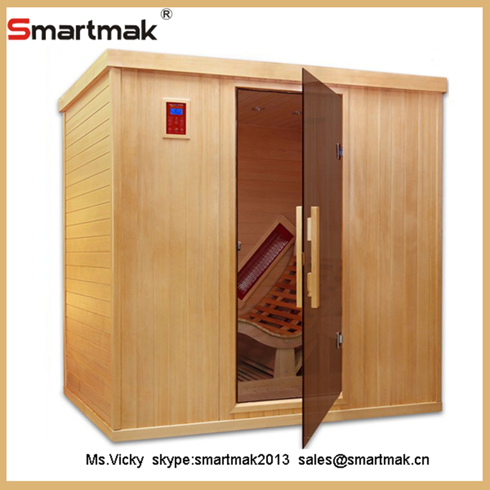 Hot selling Home 1 person thermography medical far infrared dry sauna