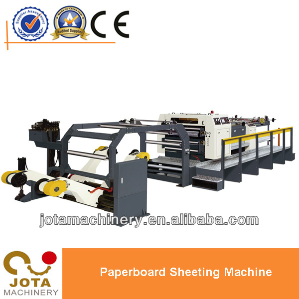 High-speed Rotary Paper Sheeter,High Production Paperboard Sheeting Machine