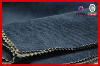 Recycled 100%Cotton Denim Corduroy Fabric