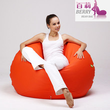 Indoor or Outdoor Printed Polyester Bean Bag Chair Beanbag Sofa Wholesale Manufacturer