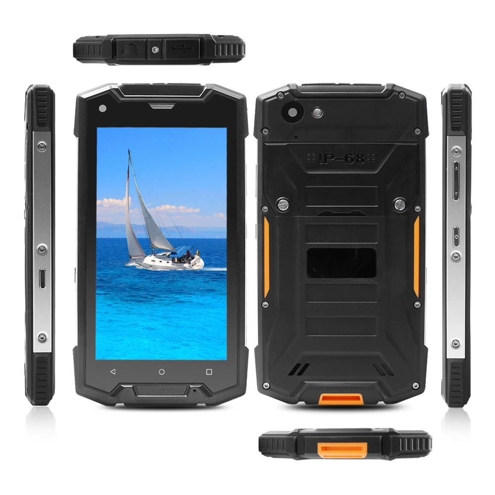 5inch Rugged phone MSM8909 Quad Core 4G LTE lollipop All China Model