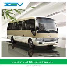 ZEV similar toyota coaster bus price mini bus for sale RHD, NG power on discount