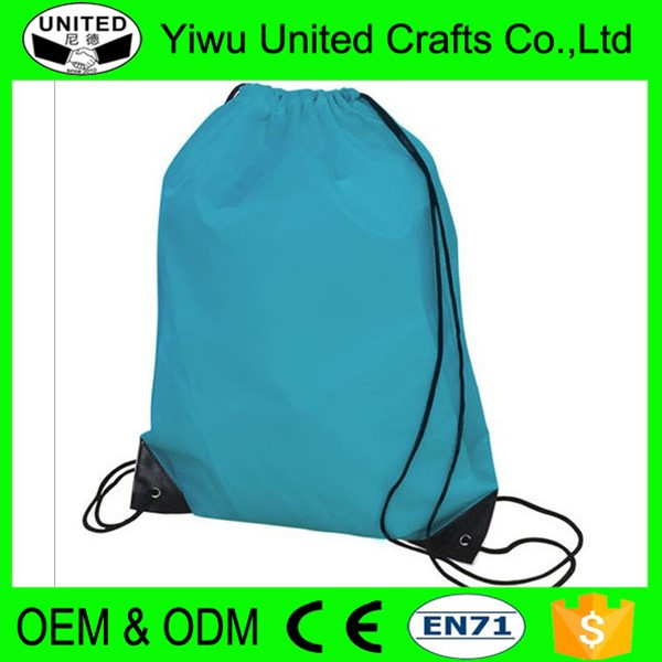 Eco-Friendly Promotional Cotton Drawstring Tote Bags/Backpacks