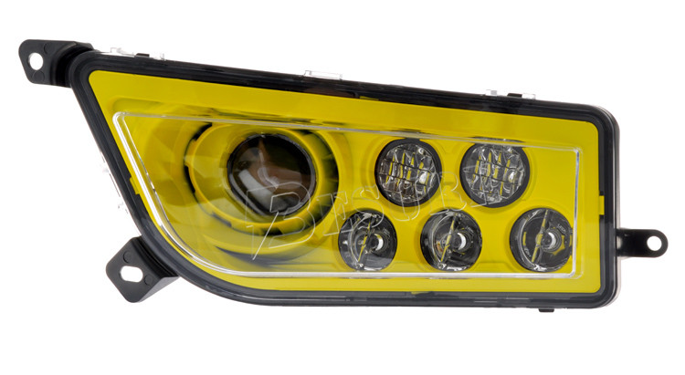 Multi-color DOT Certification Led Headlight Halo Led Kit Full Angel Light for Polaris RZR 1000