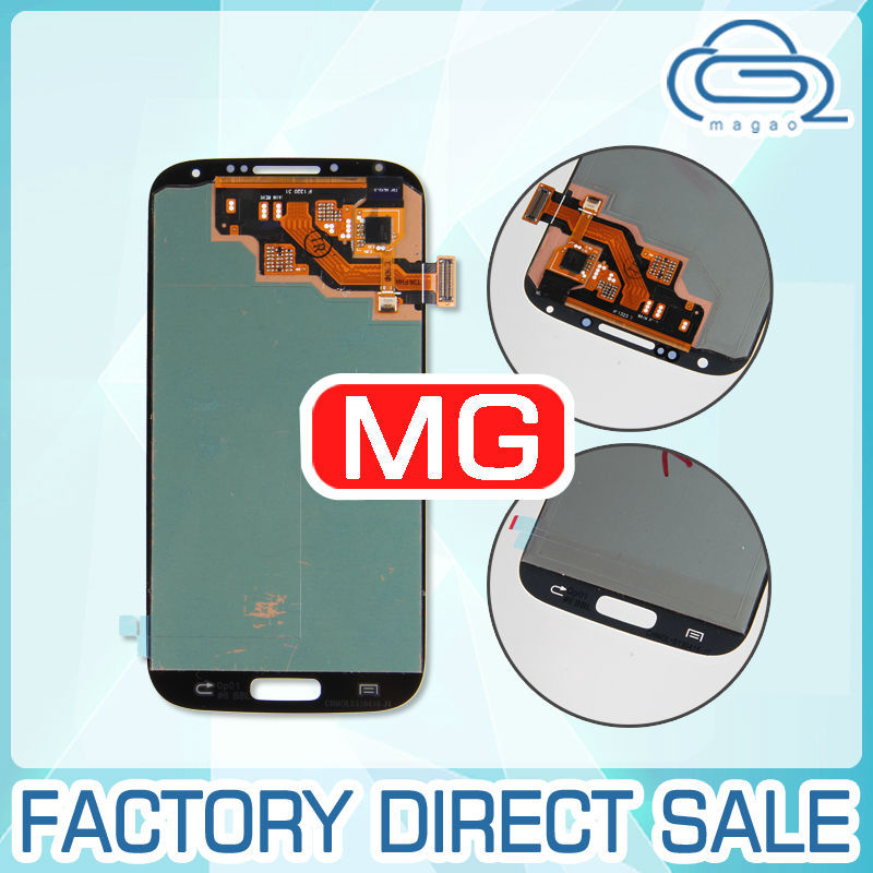 Top Quality Touch Screen For Samsung Galaxy S4 i9500 i9505 LCD Screen Digitizer Assembly with big discount