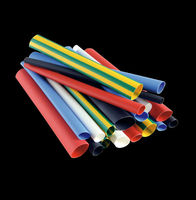 PE colorful CE ROHS Standard heat shrinkable sleeves , insulation heat shrink tube
