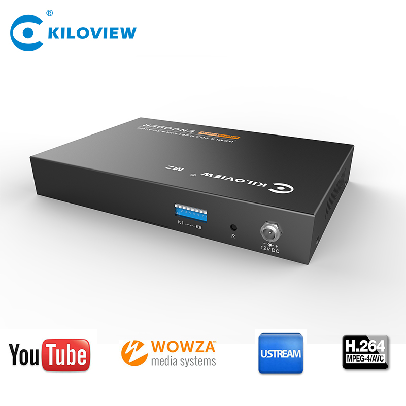 H264 IPTV VGA Encoder High Definition VGA IP Encoder Applied in Casino