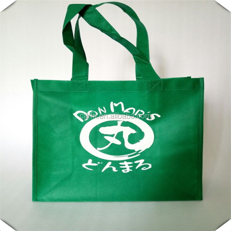 2017 shenzhen manufacture non woven handle tote bag with customized logo printing