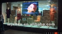 Adhesive transparent screen foil for shop window display,glass projection vinyl