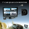 "7"" rear view LCD monitor with 7 languages OSD display"