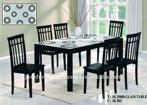 Glass Wood Dining Table glass top dining table,wooden dining table with glass top,dining