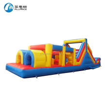 Competition game inflatable obstacle couse kids obstacle course playland
