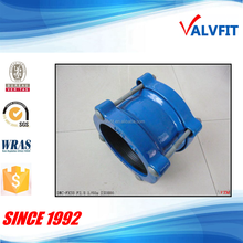 Ductile cast iron universal coupling wide tolerance pipe coupling