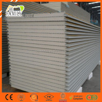 Heat Insulation Building Material Polyurethane Plates PU/PIR Wall Sandwich Panel