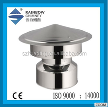 CE Chimney Cowl and Stove stainless steel 304 new style Spigot lock Chimney Cap Anti Down Draught Cowl