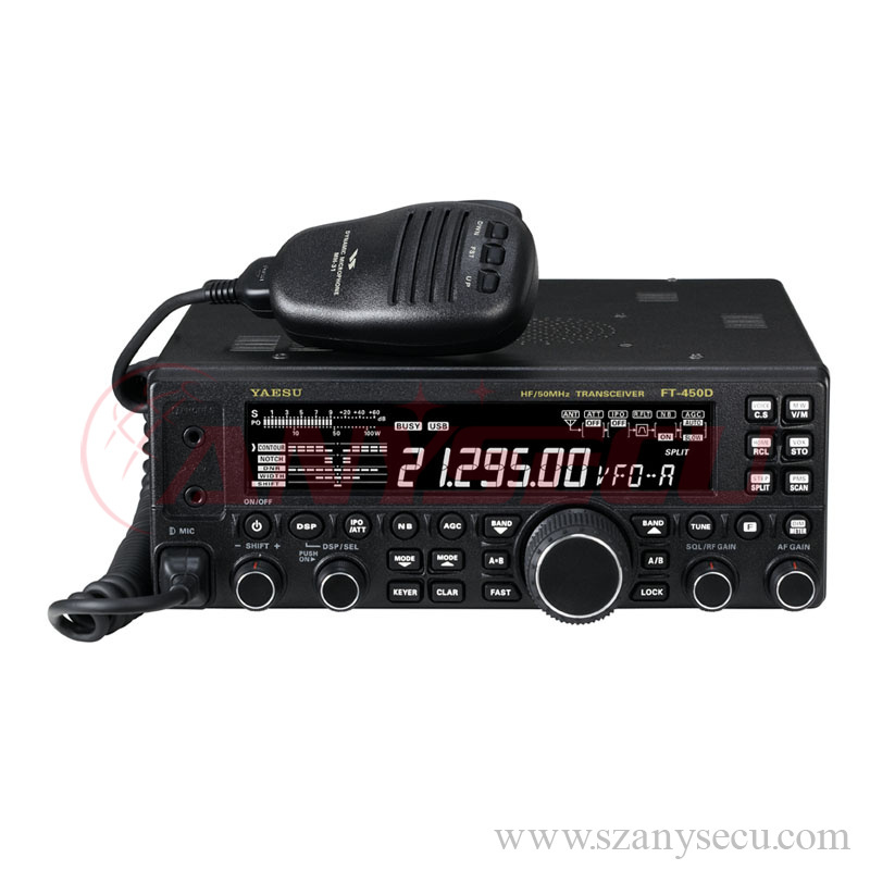 FT-450D YAESU hf ham radio transceiver 100W walkie talkie 160- 6 meters Amateur Radio bands