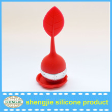 OEM food grade eco-friendly rubber silicone tea infuser